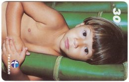 BRASIL M-120 Magnetic Telemar - People, Child - Used - Brésil