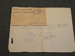 DOCUMENTS DIVERS AU NOM DE CHRISTOPHE Henri - TRAVAIL A ATELIER DE CONSTRUCTION MILITAIRE DE BRIVE 1940 - 1939-45