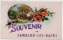 LAMALOU LES BAINS -  Fantaisie - Souvenir -  (873 ASO) - Lamalou Les Bains