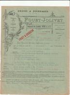 35 VITRE. GRAINS § FOURRAGES. FOUET-JOLIVET. Format A4 - Agriculture