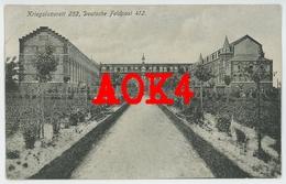 ESTAIMPUIS Kriegslazarett 252 Feldpost 1918 Flandern Mouscron Herseaux Wattrelos Institut Jean De La Salle Hainaut - Mouscron - Moeskroen