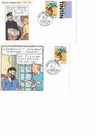 TINTIN : Fête Du Timbre 2000 - Les 3 Documents. - Comics