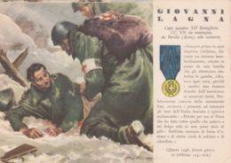 1943 GIOVANNI LAGNA Serie MEDAGLIE ORO N.24, Nuova - 1900-44 Victor Emmanuel III