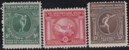 Belgie     .    OBP   .    179/181     .     **      .    Postfris   .   /   .   Neuf SANS Charniere - Unused Stamps
