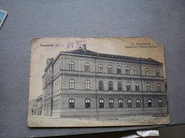 Temesvar All Forealiskola  Corner 1910 - Romania
