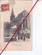 CP 62 -    BURBURE - L'église  (en état) - France
