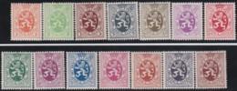 Belgie     .    OBP   .    276/288A     .     **      .    Postfris   .   /   .   Neuf SANS Charniere - Unused Stamps