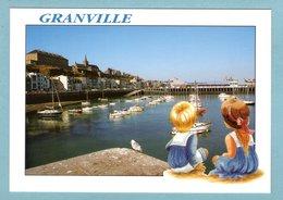 CP 50 - Granville - L'avant-port - Granville