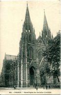CPA - PARIS -  BASILIQUE DE SAINTE-CLOTILDE - Eglises