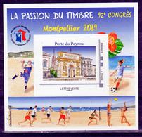 France BF 16 FFAP Congrès De Montpellier 2019 Neuf ** LUXE MNH Sin Charnela - FFAP
