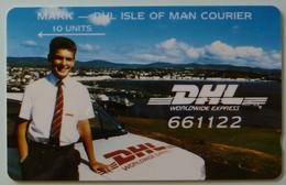 ISLE OF MAN - GPT - DHL - 1st Issue - MARK - 5IOMH - 10 Units - Mint - Man (Ile De)