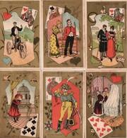 Tapioca Louis 6 Chromos - Trade Cards