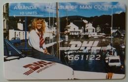ISLE OF MAN - GPT - DHL - 1st Issue - AMANDA - 5IOMF - 10 Units - Mint - Man (Ile De)