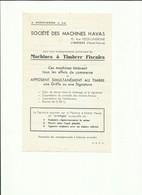 Haute Vienne Limoges Garibaldi Fac Similé Publicitaire Machine à Affranchir Havas - 1921-1960: Moderne