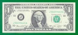 United States Fr#1908J $1 1974 Kansas City UNC - Billets De La Federal Reserve (1928-...)