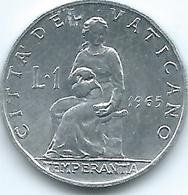 Vatican City - Paul VI - 1965 - 1 Lira - KM76.2 - Vaticano