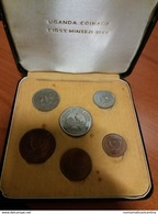 UGANDA Serie Ufficiale 1966 Coins Set - Oeganda