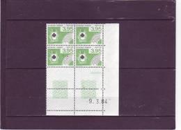PREO N° 185- 3,95 CARTES A JOUER - 09.03.1984 - - Vorausentwertungen