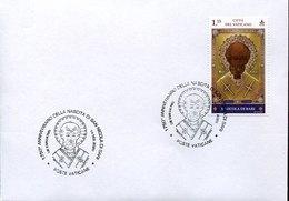 54433 Vaticano,fdc 2020 Russian Icon Of The Saint, 1750 Year Anniversary Of The Birth Of St.nicholas Of Bari - Otros