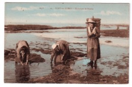 Port-en-Bessin - Pêcheuses De Moules - Colorisée - édit AD A. Dubosq 26 + Verso - France