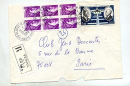Lettre Recommandée  Vesoul Sur Sabine Faurat - Marcophilie (Lettres)