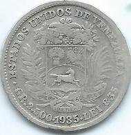 Venezuela - 1935 - ½ Bolívar - KMY21 - Venezuela