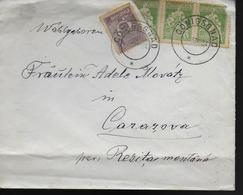 ROUMANIE  Lettre 1924 Conigsgnad Ferdinand Ier - Familles Royales