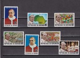 Burundi Nº 330 Al 336 - 1962-69: Neufs