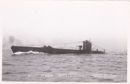 LE SOUS-MARIN DORIS - PEU COURANTE CPSM - Submarines