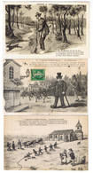 LOT DE 10 CARTES POSTALE CAP LEGENDE DE SAINT SAULGE - Cartes Postales