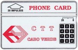 CAPE VERDE A-035 Hologram CTT - 210F - MINT - Kaapverdische Eilanden