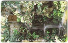 CUBA A-307 Chip Etecsa - Landscape, Waterfall - Used - Cuba