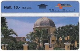 CURACAO A-022 Hologram Setel - Culture, Historic Building - 803B - Used - Antille (Olandesi)