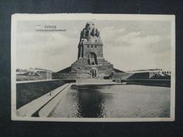 - AK  1922, Völkerschlachtdenkmal Leipzig, Karte Der D.L.G. - Asstellung 1921 - Leipzig