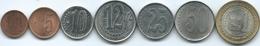 Venezuela - 2007 - 1, 5, 10, 12½, 25 & 50 Céntimos & 1 Bolívar (KMYs 87-93) - Venezuela
