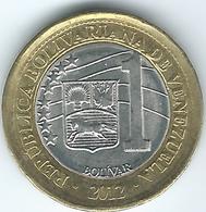 Venezuela - 2012 - 1 Bolívar - KMY93 - Venezuela