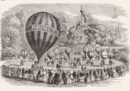 Postcard - Juvenile Fete And Balloon Race At Cremorne Gardens 1859  Card No.  Unused Very Good - Cartes Postales
