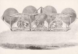 Postcard - 19th Century Ballooning Navigation 1845 No Card No.  Unused Very Good - Cartes Postales