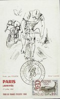 Cycling - Cyclisme - Radsport  -  TOUR DE FRANCE  -  PARIS ( ARRIVÉE ) 17.juillet 1960 - Cyclisme