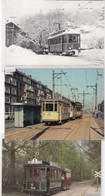 MAGNIFIQUE COLLECTION DE 72 CARTES DE TRAMWAYS / TOUTES SCANNEES / A VOIR /PETIT PRIX DE DEPART - Tramways