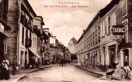 16432        MONTREJEAU   RUE NATIONALE - Montréjeau