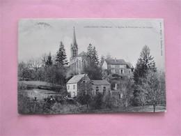 CORGIRNON_L' Eglise, Le Presbytere Et Les Classes - Voyagé En 1907 - Other Municipalities