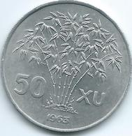 Vietnam - South - 1963 - 50 Xu - KM6 - Aluminium - Vietnam