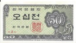 CORÉE DU SUD - 50 Jeon 1962 - UNC - Korea (Süd-)