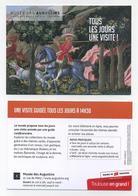 CP Pub - Musée Des Augustins - Toulouse - Beaux-Arts - Giovani Di Franco : La Chasse - Cavalier, Cheval, Chien - Museen
