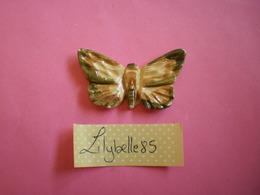 Feve PERSO Ancienne Artisanale MARLENE - PAPILLON ( Feves Figurine Miniature ) Rare - Antiguos