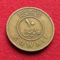 Kuwait 10 Fils 1973 / AH1393 KM# 11 *V2 Koweit Koeweit - Kuwait