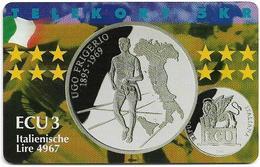 Denmark - Tele Danmark (Chip) - Ecu - Italy - TDP281 - 12.98, 600ex, Mint - Dänemark