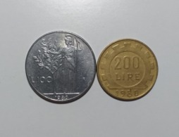 Italia  Serie 100-200 Lire 1980 - Other