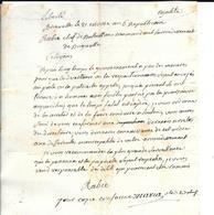 Lettre 21 Nivôse An 6 De RABIE Chef De Bataillon Commandant  De BRIGNOLES (VAR)  (1798) ARRETER LES DESERTEURS  (F29 - Documentos